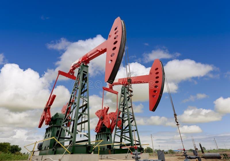 油泵起重器 图库摄影