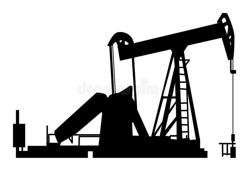 油泵 库存例证
