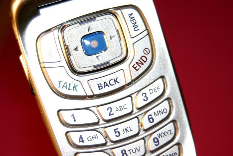 油滑的电话 免版税库存照片