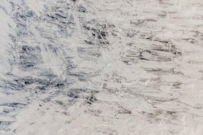 油漆在帆布,抽象派的纹理 图库摄影