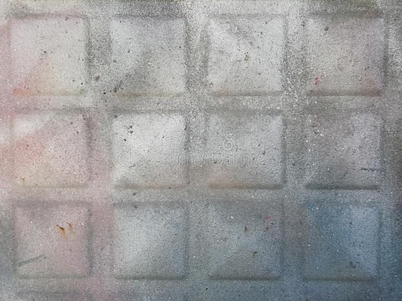 油漆层数金属表面上的 免版税图库摄影