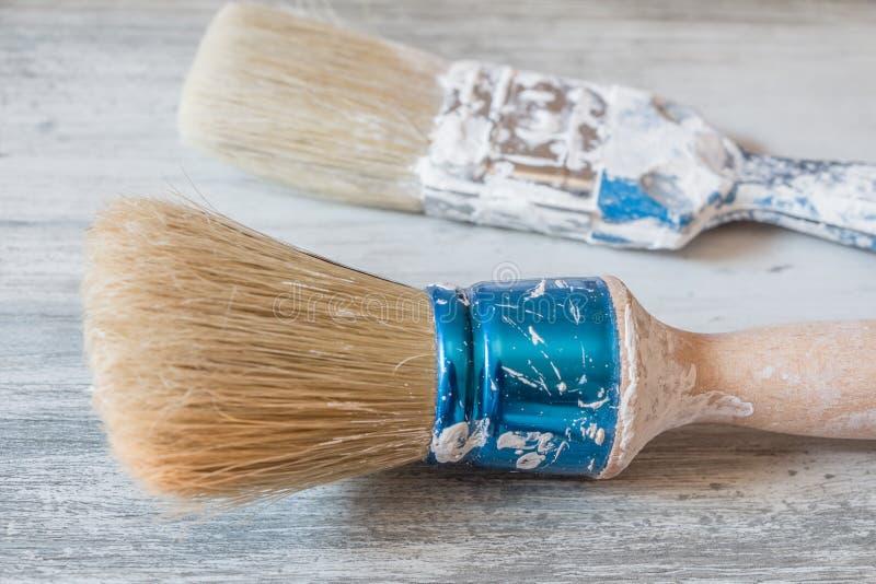 油漆比您认为,做它你自己容易 免版税库存图片