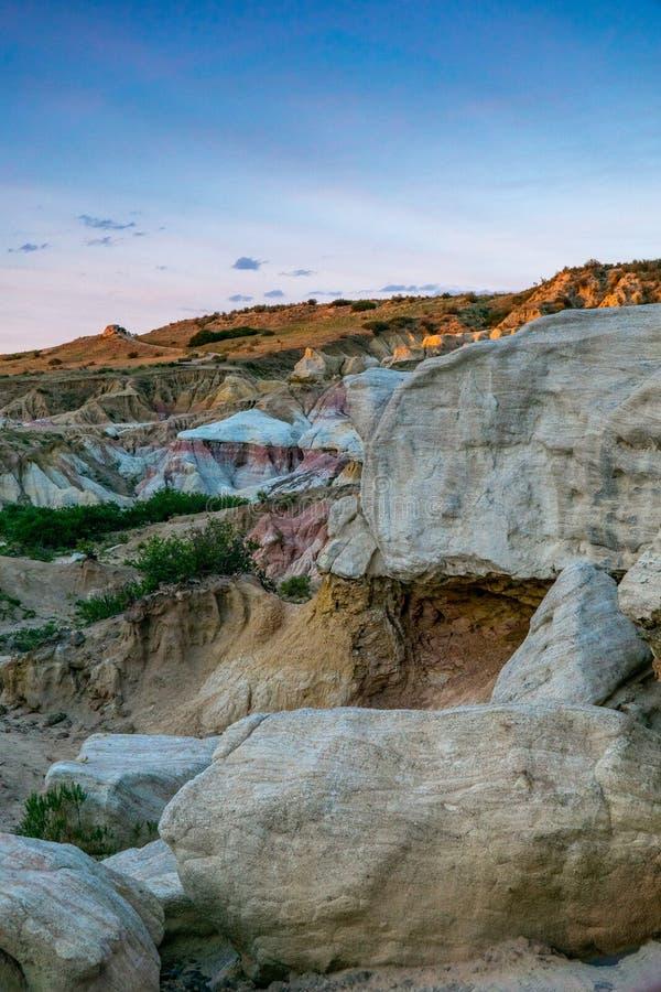 油漆矿解释性公园科罗拉多斯普林斯 免版税图库摄影