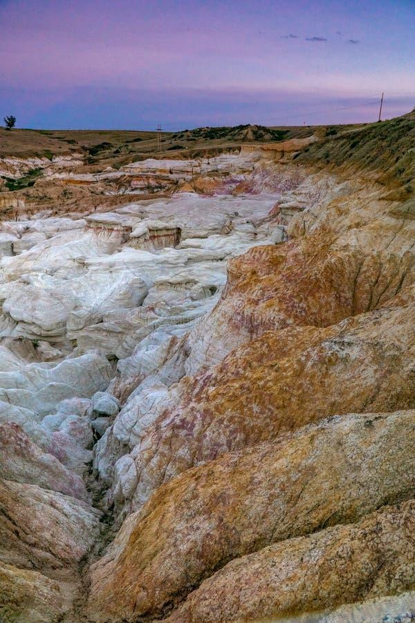 油漆矿解释性公园科罗拉多斯普林斯 库存图片