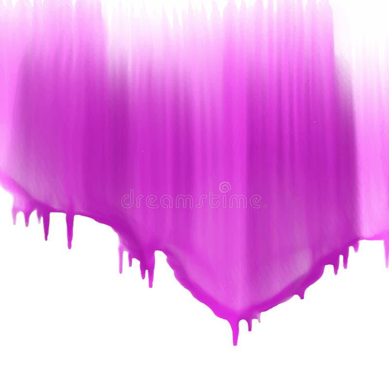 水滴油漆背景 皇族释放例证