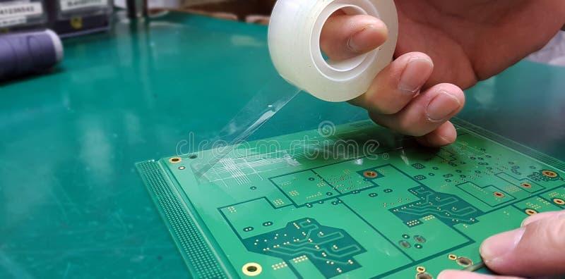 油漆黏附力测试是否是常用的确定油漆o 库存照片
