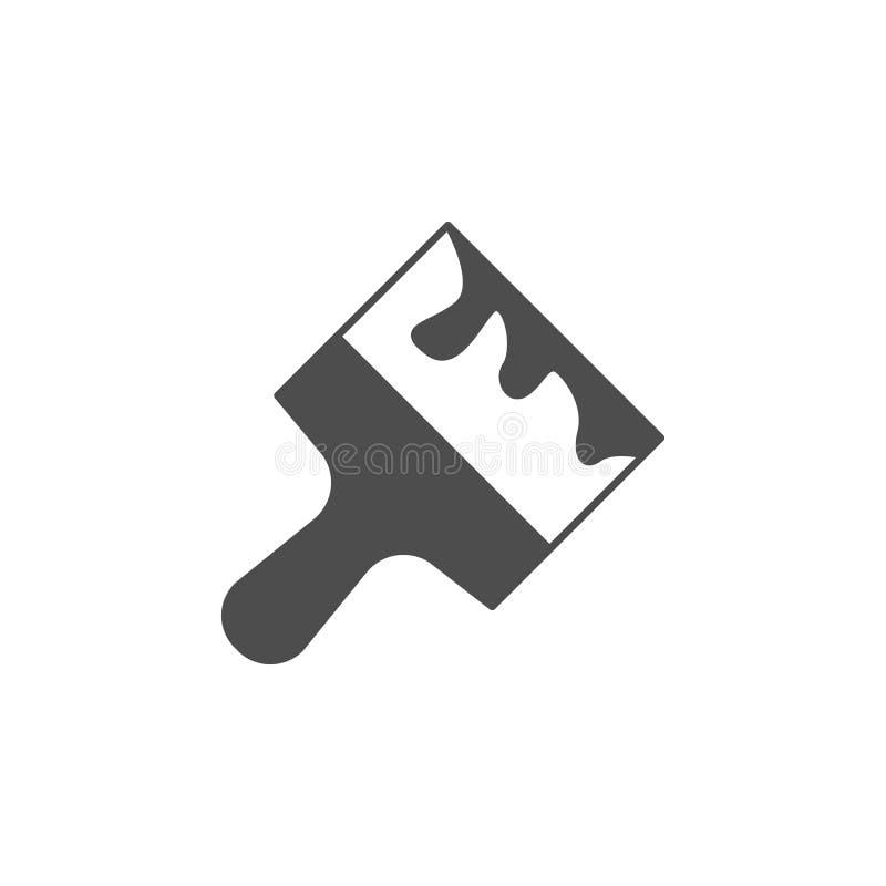 油灰刀象 网象的元素 优质质量图形设计象 标志和标志汇集象网站的,网d 库存例证