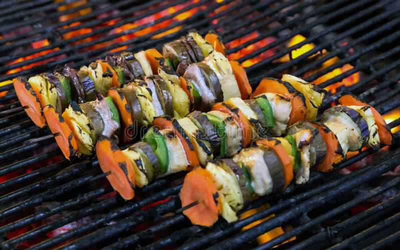 油炸食品菜用棍子,泰国样式食物,泰国街道食物 库存图片