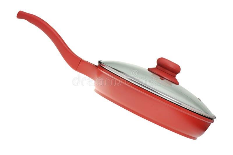 油煎厨房平底锅器物 免版税库存照片