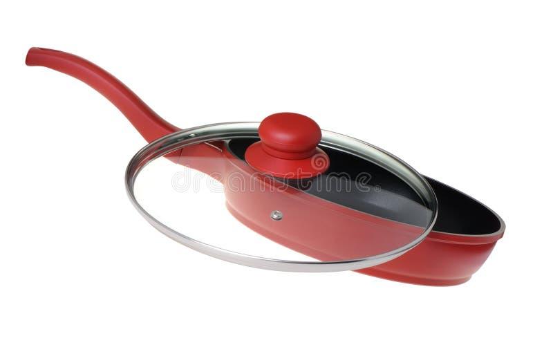 油煎厨房平底锅器物 免版税图库摄影