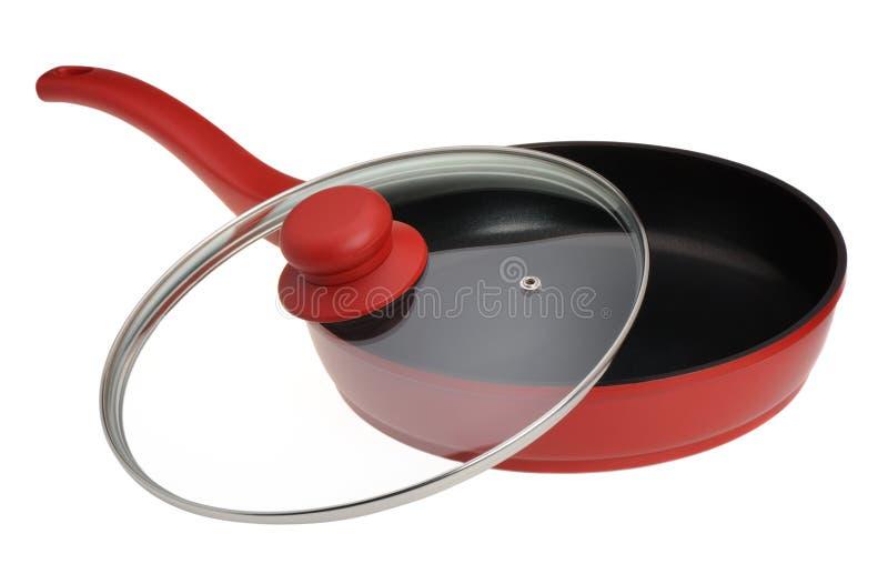 油煎厨房平底锅器物 免版税库存图片