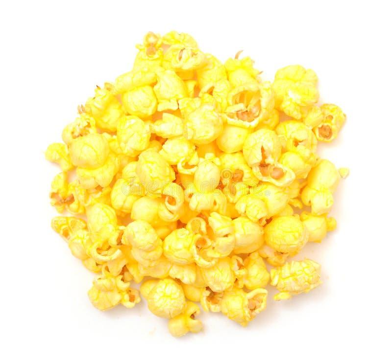 黄油玉米花 库存图片
