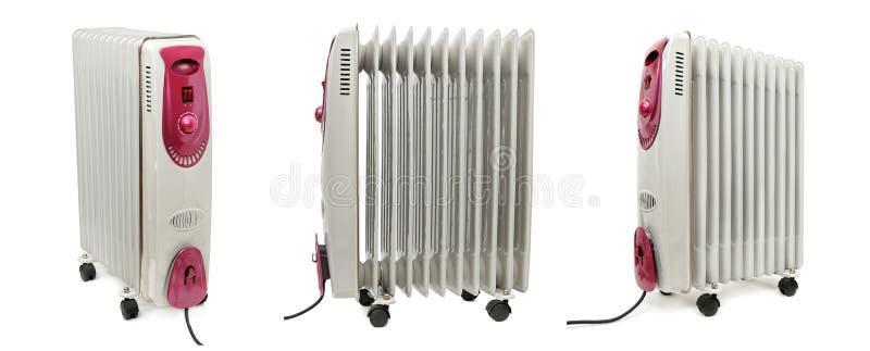 油电幅射器加热器 库存图片