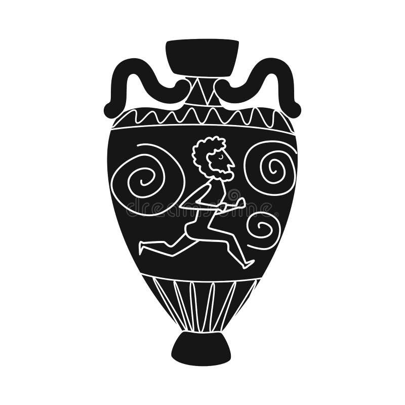 油罐和人工制品象的传染媒介例证 油罐和文明储蓄传染媒介例证的汇集 皇族释放例证