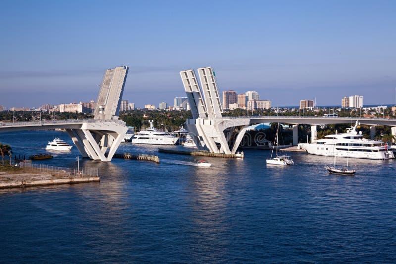 沼泽地Fort Lauderdale端口 免版税库存图片