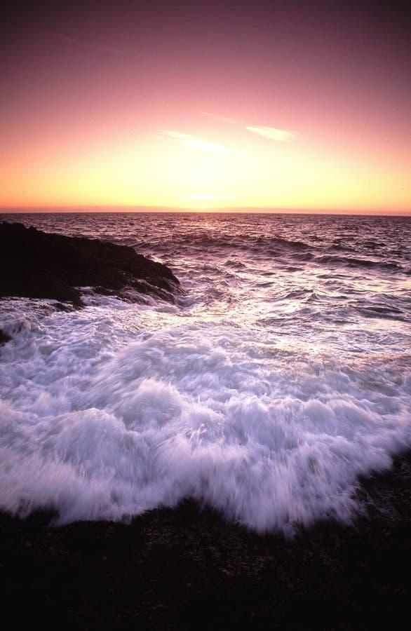 沿岸航行俄勒冈纵向 库存照片