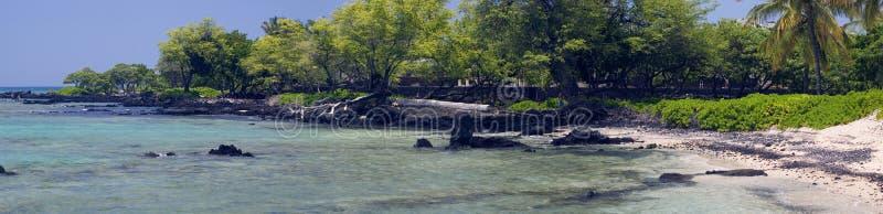 沿岸航行热带的全景 图库摄影