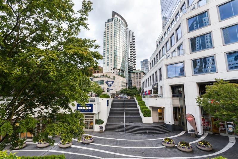 沿海地带地区在温哥华, BC 免版税库存照片