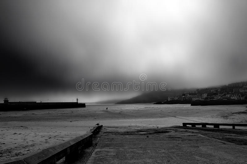 沿海风暴 库存图片