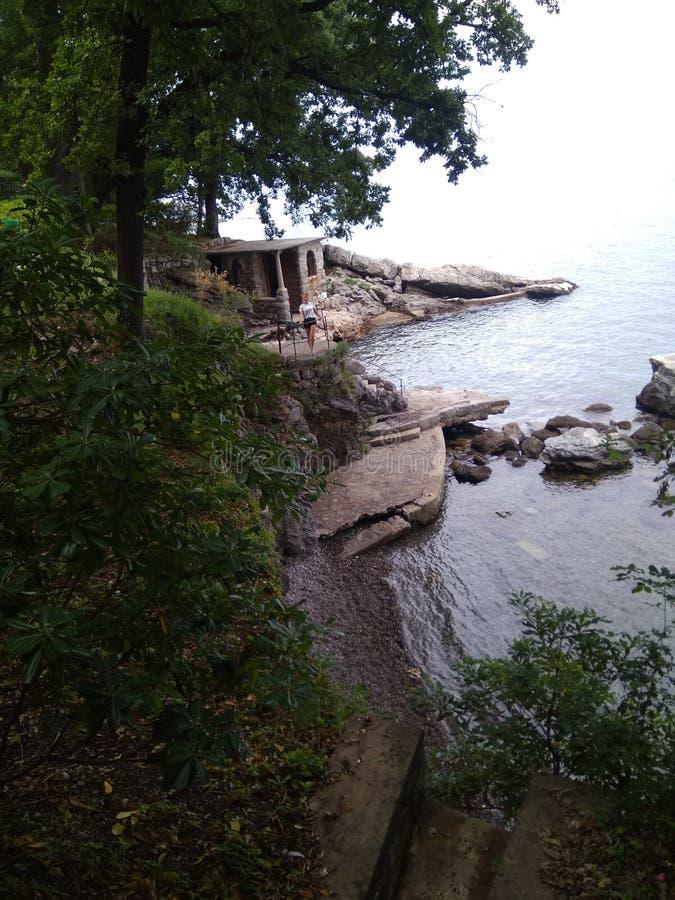 沿海,克罗地亚 库存图片