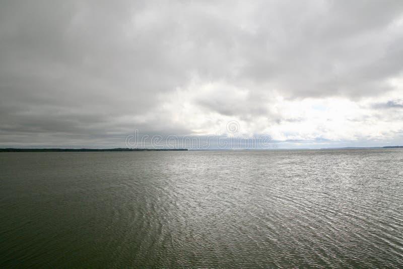 沿海水路 免版税库存照片