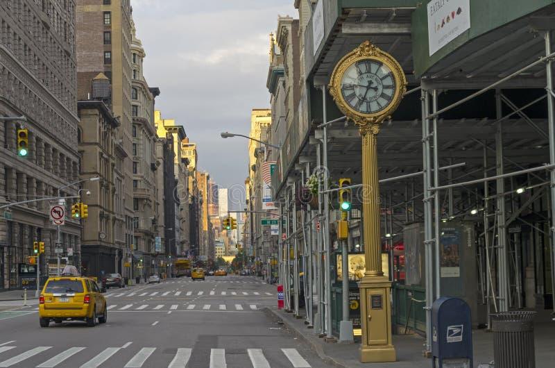 沿第五大道, NY的看法 库存照片