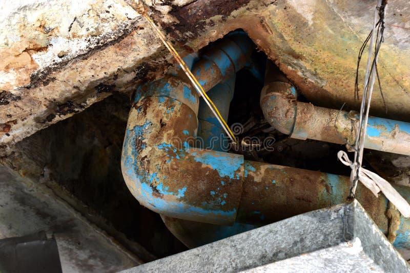 水泄漏 库存图片