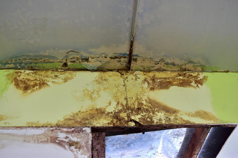 水泄漏 免版税库存照片