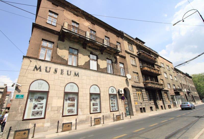 法兰兹・费迪南的刺杀博物馆  库存照片