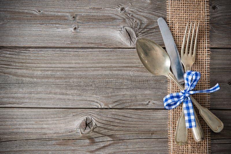 巴法力亚专业的菜单 免版税库存图片