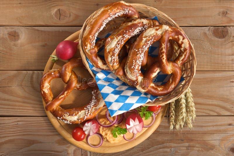 巴法力亚早餐 免版税库存照片