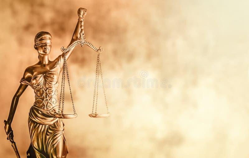 法办旗帜概念形象正义尺度 库存照片