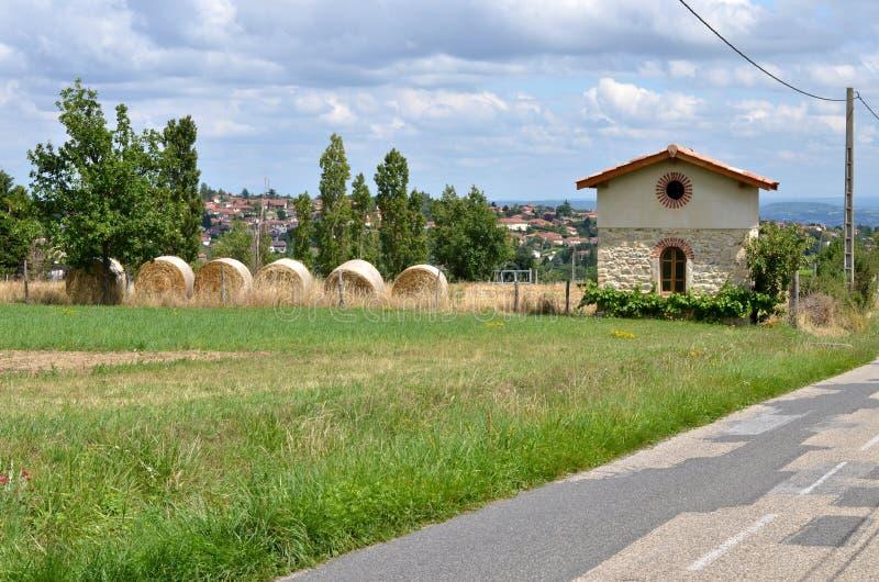 法国乡下风景 库存照片