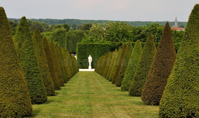 法国凡尔赛宫庭院1 图库摄影