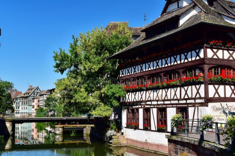 法国史特拉斯堡 库存照片