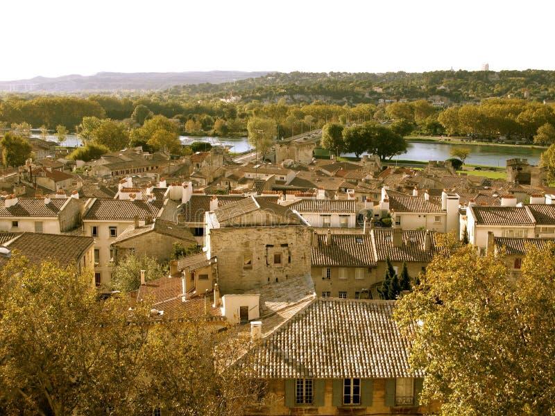 法国城镇 免版税库存图片