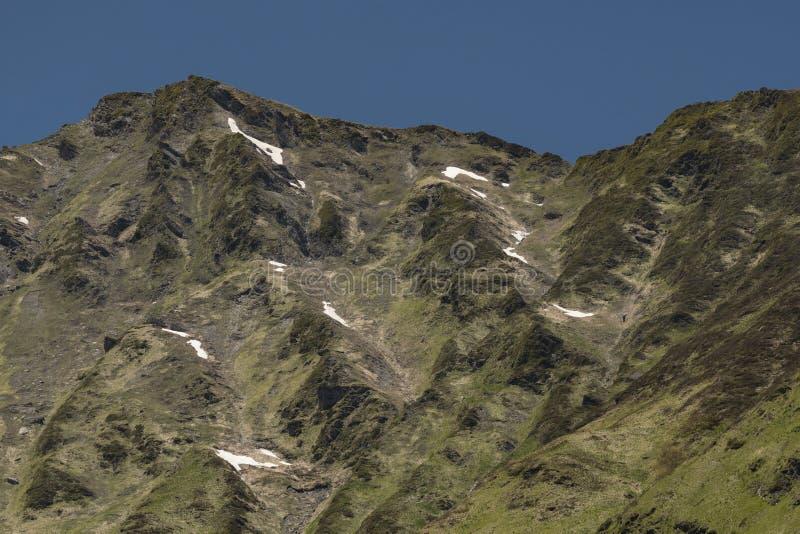法国山Hautes-Pyrénées,法国 图库摄影
