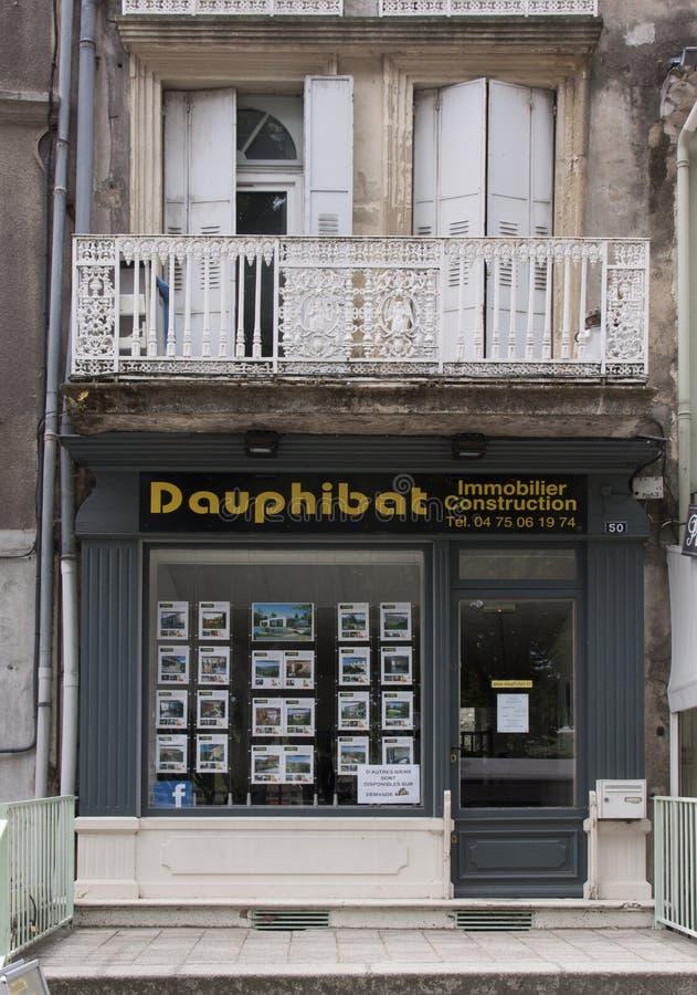 法国房地产办公室在阿维尼翁法国 库存图片