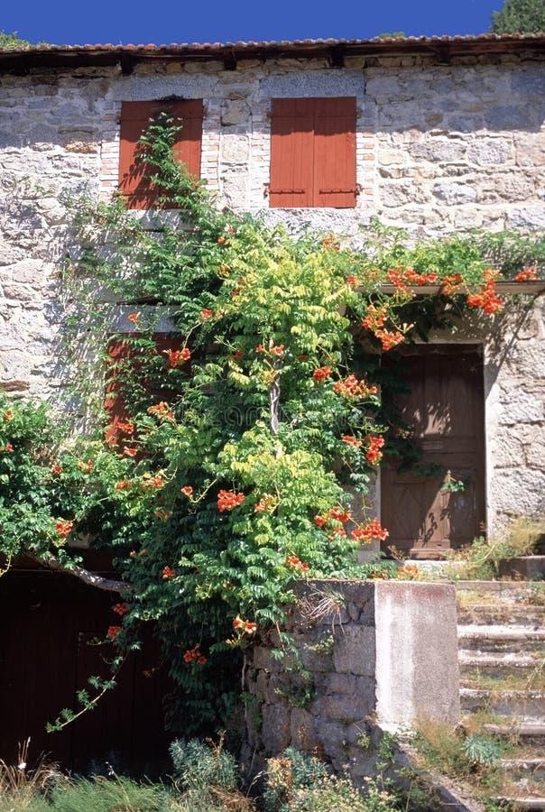 法国房子 免版税图库摄影
