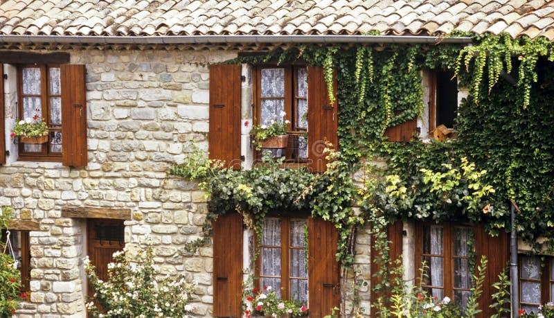法国房子 库存图片