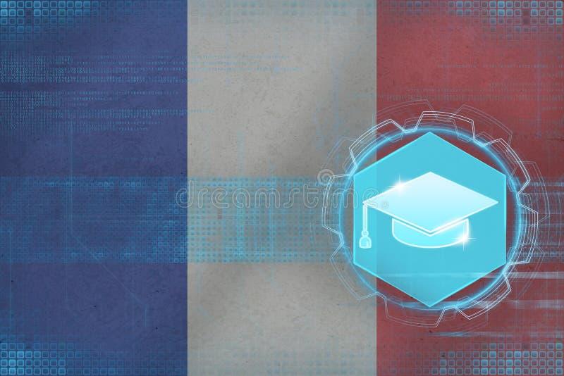 法国教育 大学概念 皇族释放例证