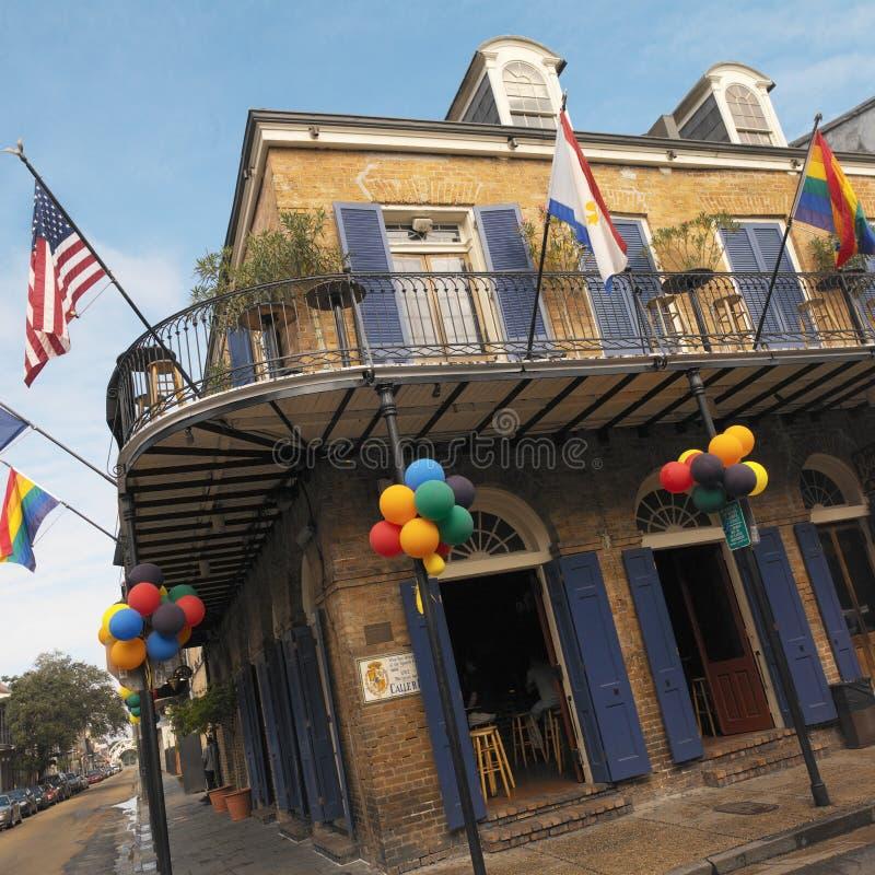 法国新奥尔良四分之一美国 免版税库存图片
