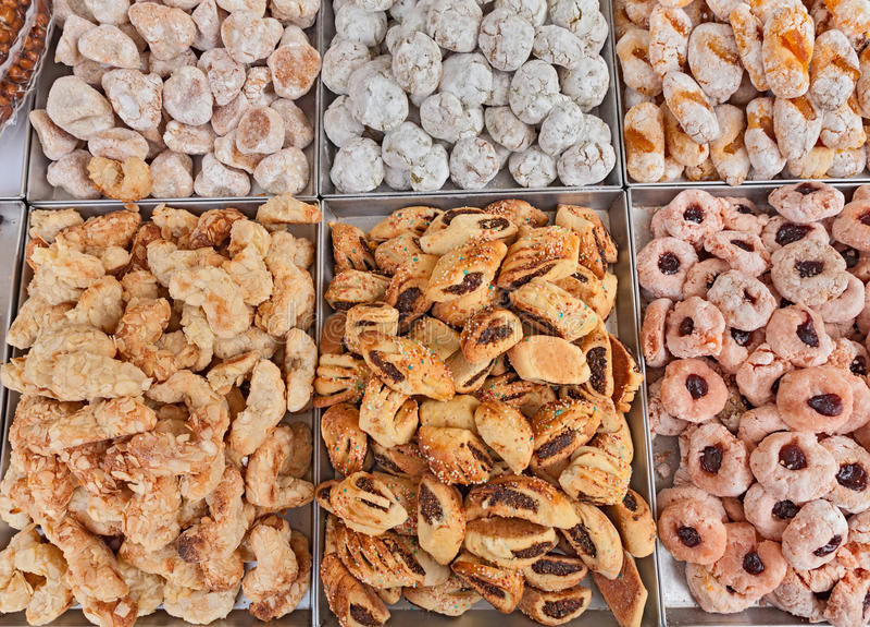 法国曲奇饼 免版税图库摄影