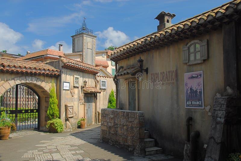 法国村庄 库存照片