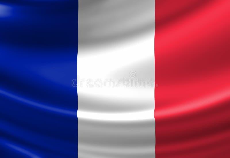 法国标志 皇族释放例证