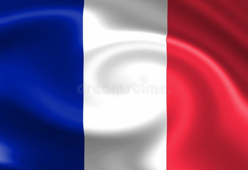 法国标志 库存例证