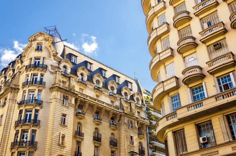 法国样式建筑学 免版税库存图片