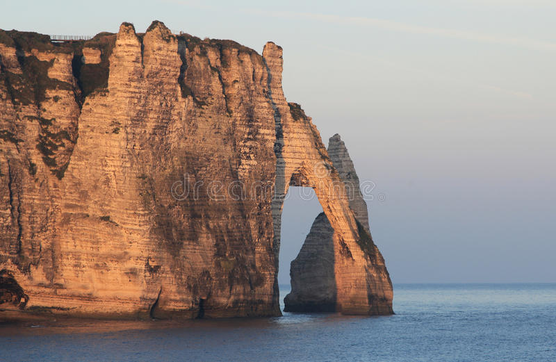 法国海滩 免版税库存图片