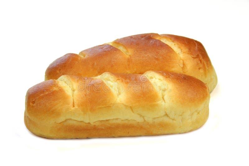 法国牛奶面包 免版税库存照片