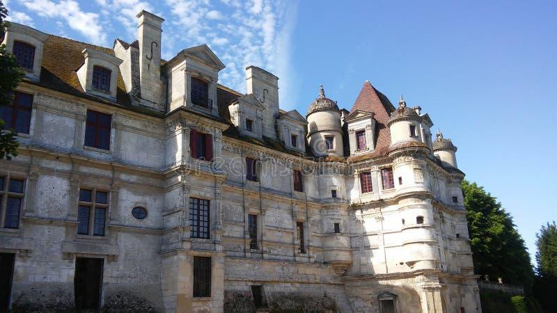 法国的城堡:Ambleville 库存图片